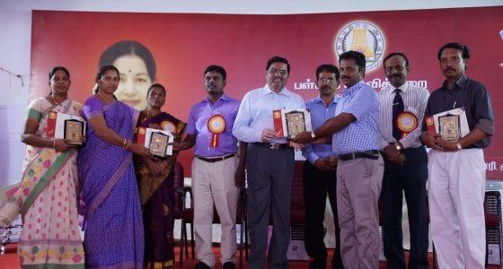 Tiruppur District Collector Mr.Govindaraj I.A.S in Teacher's Award Ceremony